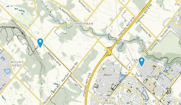 Tansley, Ontario Map
