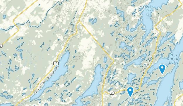 Tay Valley, Ontario Map