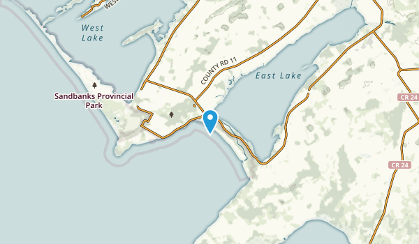 The Outlet, Ontario Map