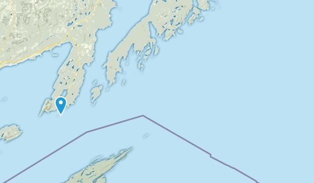 Thunder Bay District, Ontario Map