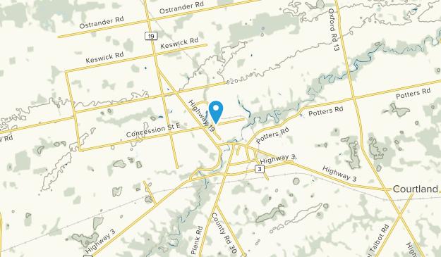 Tillsonburg, Ontario Map