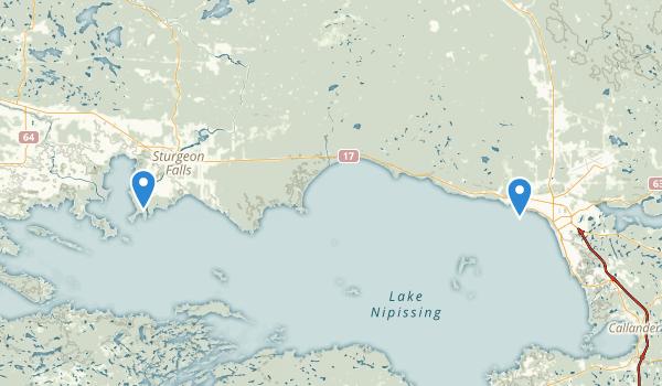 West Nipissing, Ontario Map