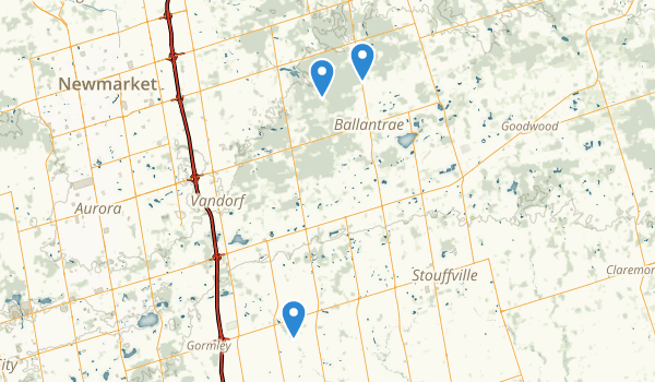 Whitchurch-Stouffville, Ontario Map