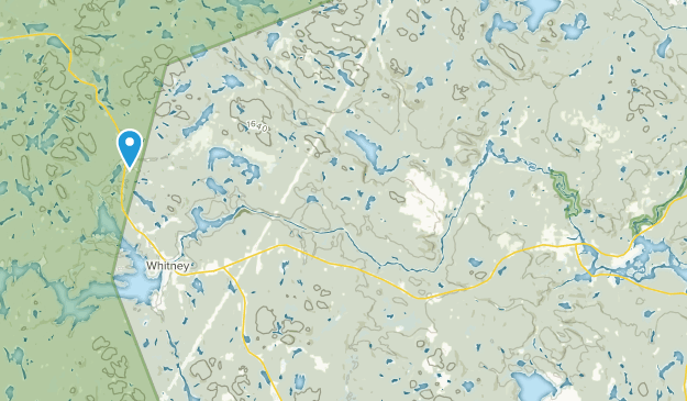 Whitney, Ontario Map