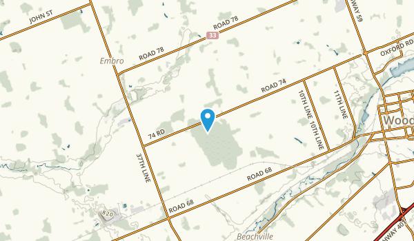 Zorra, Ontario Map