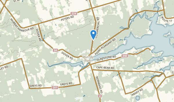 Murray River, Prince Edward Island Map
