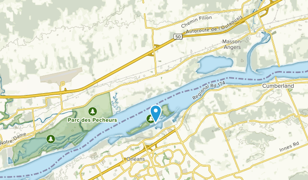 Angers, Quebec Map
