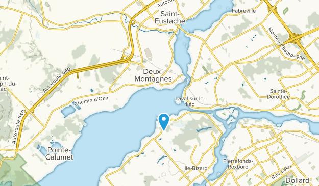 Deux-Montagnes, Quebec Map