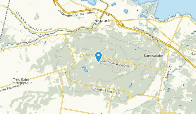 Domaine-Brunet, Quebec Map