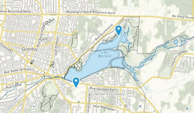 Granby, Quebec Map