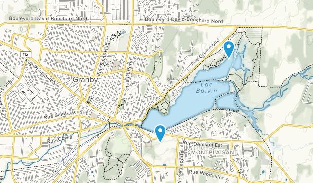 Granby, Québec Map