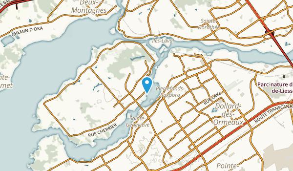 Greendale, Quebec Map
