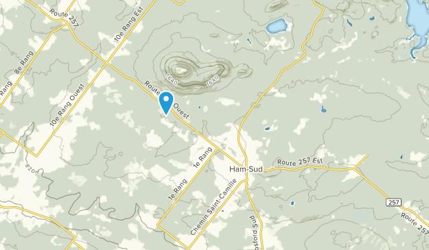 Ham-Sud, Quebec Map