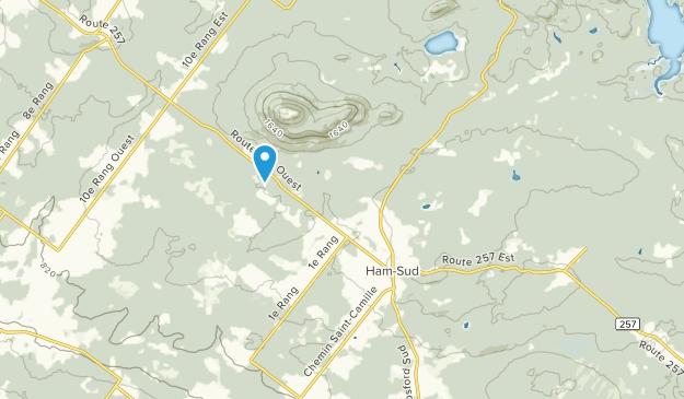 Ham Sud, Quebec Map