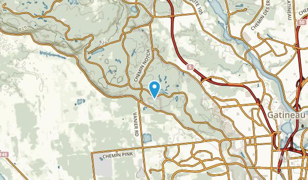 Kilroy Crescent, Quebec Map