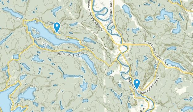 La Conception, Quebec Map