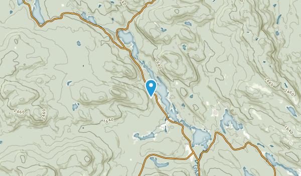 Lac-Des-Dix-Milles, Quebec Map
