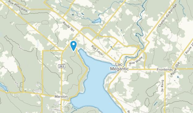 Lac-Megantic, Quebec Map