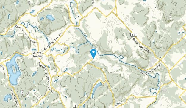 Lac-Rocher, Quebec Map