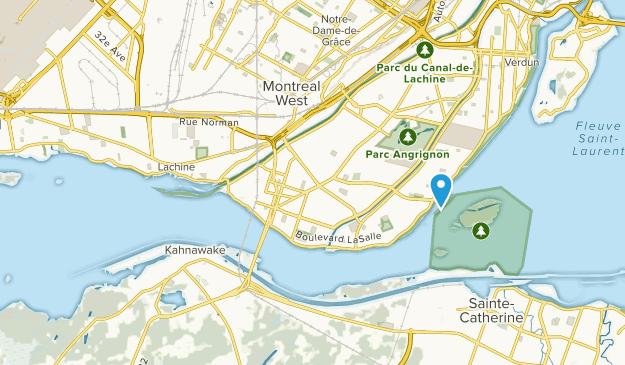 Lasalle, Quebec Map