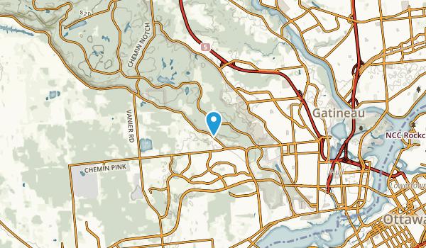 le Plateau, Quebec Map
