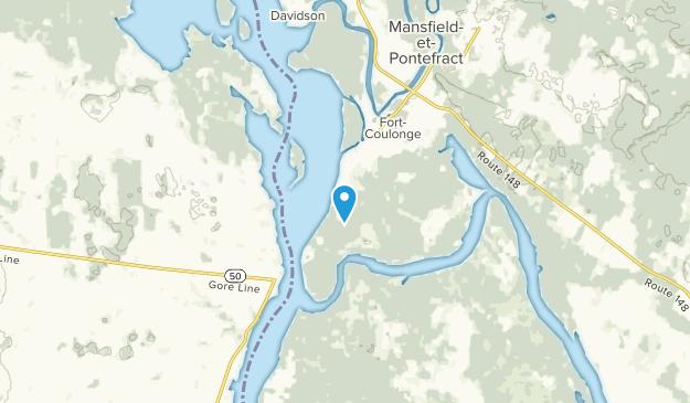 Mansfield-Et-Pontefract, Quebec Map