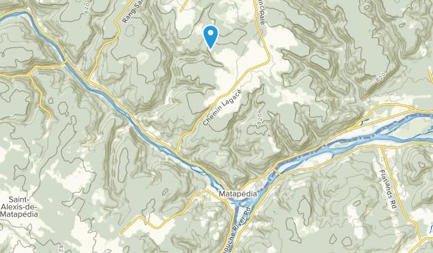 Matapedia, Quebec Map