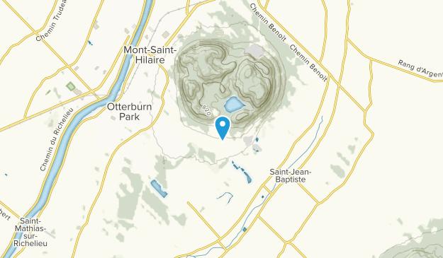Mont-St-Hilaire, Quebec Map