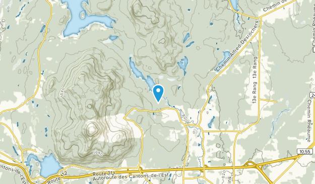 Montagnac, Quebec Map