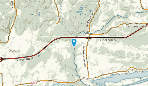 North Nation Mills, Quebec Map