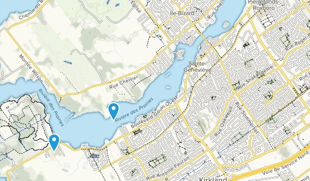 Pierrefonds, Quebec Map
