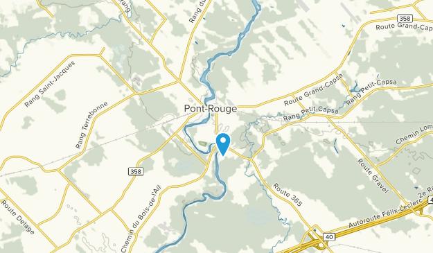 Pont-Rouge, Quebec Map