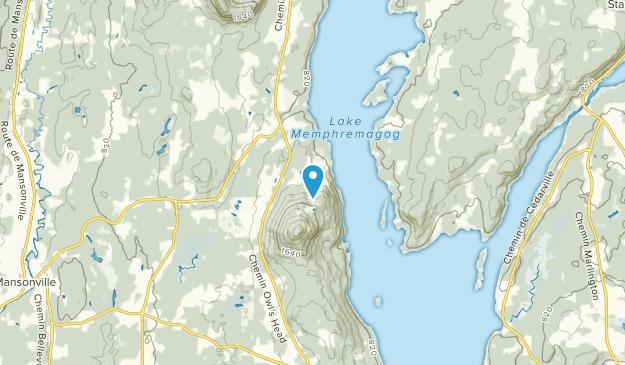 Potton, Quebec Map