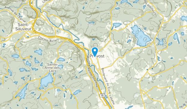 Prevost, Quebec Map