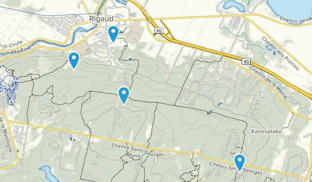 Rigaud, Quebec Map