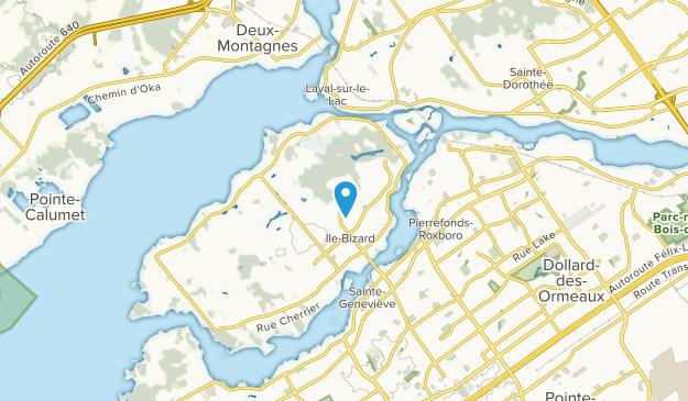 Riviera, Quebec Map