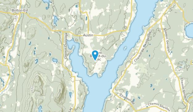Saint-Benoit-Du-Lac, Quebec Map