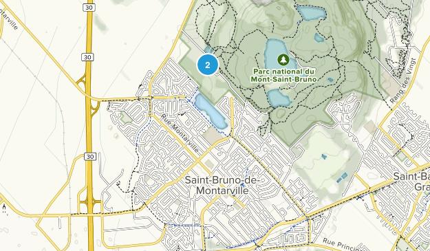 Saint-Bruno-de-Montarville, Quebec Map