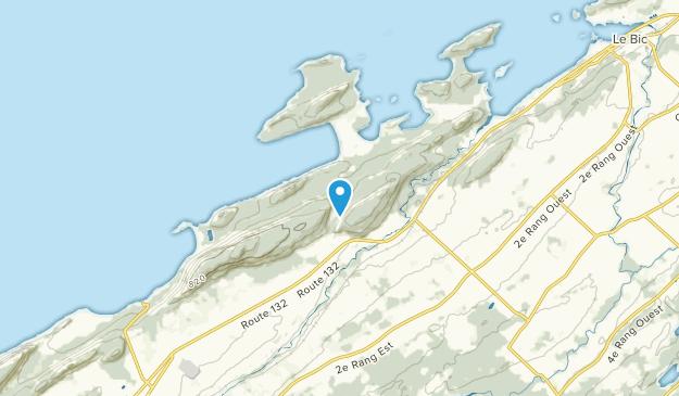 Saint-Fabien, Quebec Map