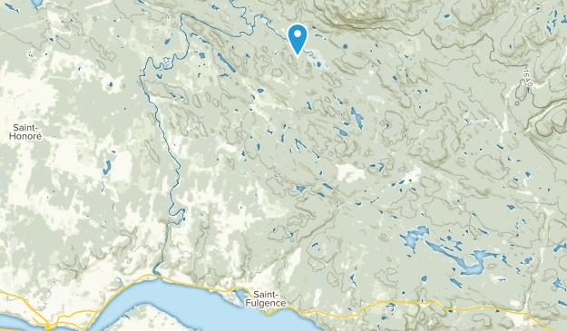 Saint-Fulgence, Quebec Map