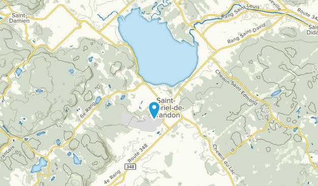Saint-Gabriel-de-Brandon, Quebec Map