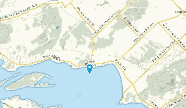 Saint-Placide, Quebec Map