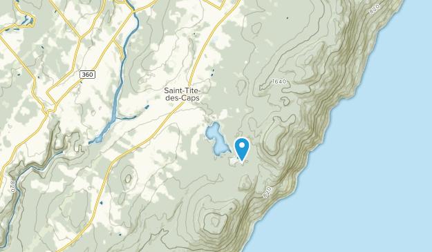 Saint-Tite-des-Caps, Quebec Map