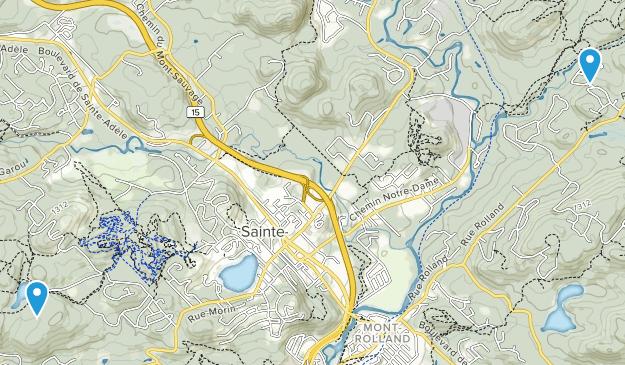 Sainte-Adele, Quebec Map