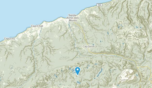Sainte-Anne-des-Monts, Quebec Map