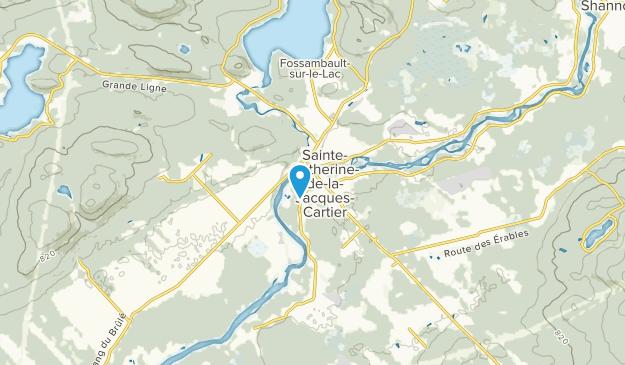 Sainte-Catherine-de-la-Jacques-Cartier, Quebec Map