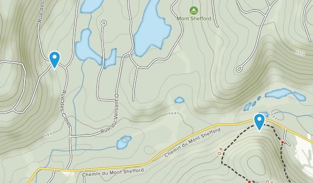 Shefford, Quebec Map