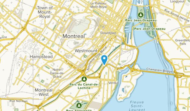 Westmount, Quebec Map