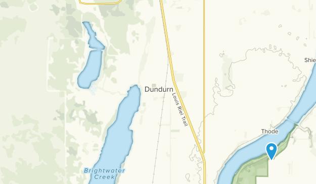 Dundurn, Saskatchewan Map