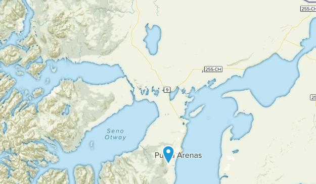 Punta Arenas, Magallanes y la Antártica Chilena Map